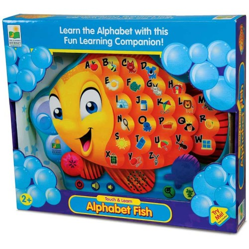 Alphabet Educational Toys : Alphabet fish electronic touch learn board educational