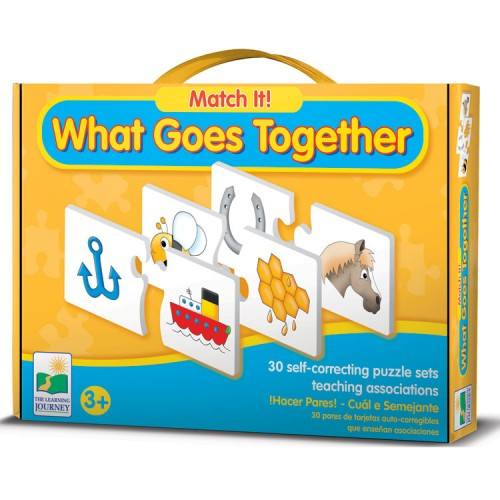 Match It! What Goes Together – Associations Puzzle