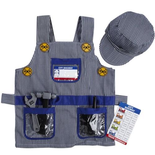 Train Engineer Kids Costume Role Play Set