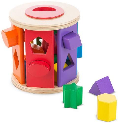 Shape Sorting Drum Developmental Toy