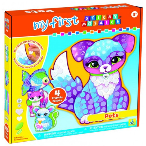 My First Sticky Mosaics Pets Craft