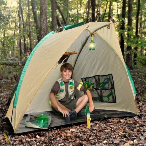 Backyard Safari Base Camp Shelter Play Tent