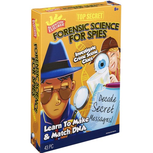 Forensic Science For Spies Detective Activity Kit Educational Toys Planet