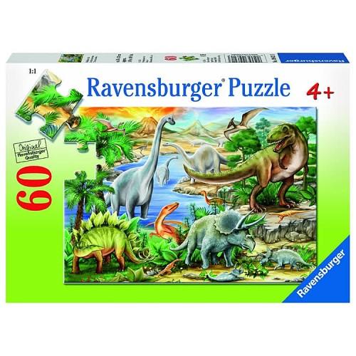 Prehistoric Life 60 pc Dinosaur Puzzle