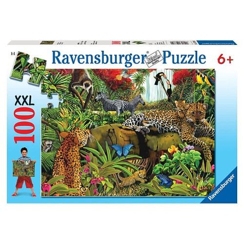 Wild Jungle 100 pc Animal Puzzle