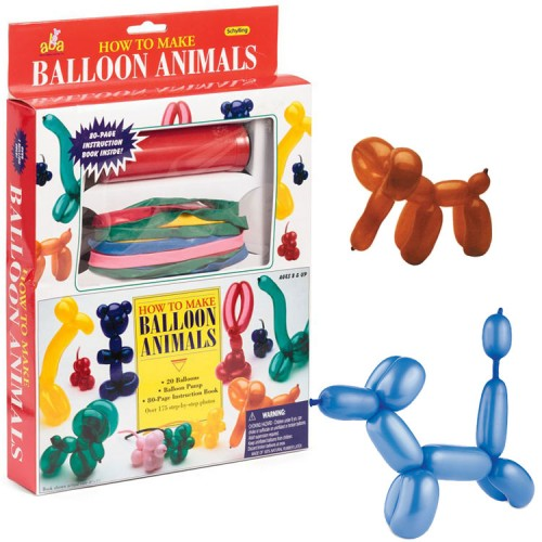 Animal Balloons Twisting Kit for Kids
