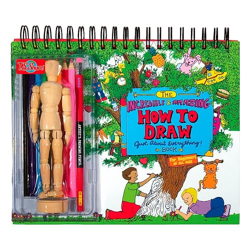 How to Draw Everything Art Activity Book