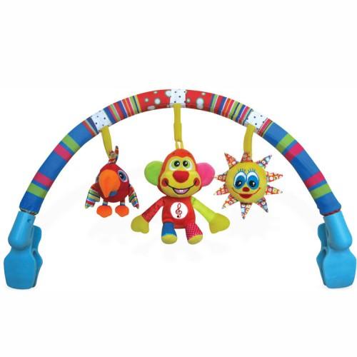 Musical Interactive Rainbow Baby Stroller Activity Center