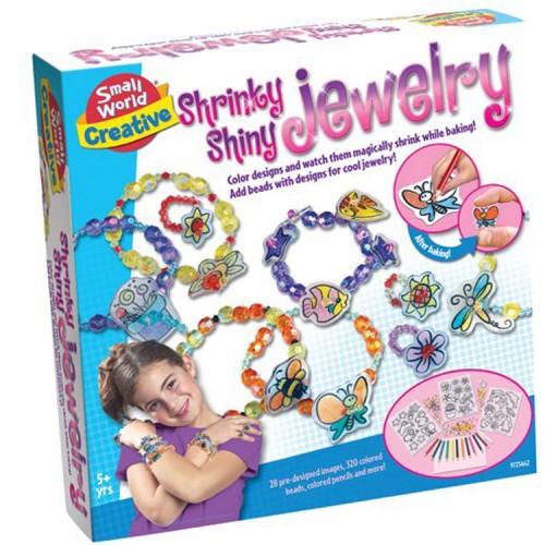 Shrinky Shiny Jewelry Kit