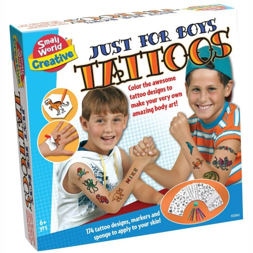 Boys Tattoos Craft Kit - Educational Toys Planet-9935