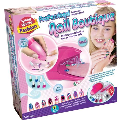 Professional Nail Spa Fashion Craft Kit Educational Toys Planet