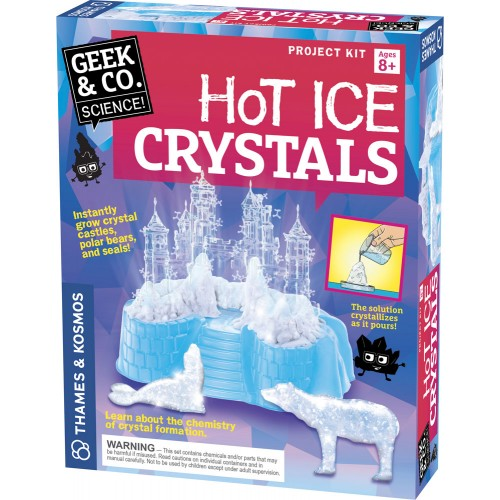 Geek Toys Science : Hot ice crystals science project kit educational toys planet