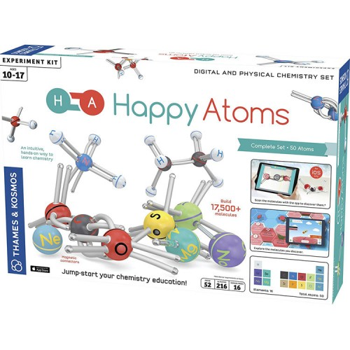 Happy Atoms Digital & Physical Chemistry Science Kit