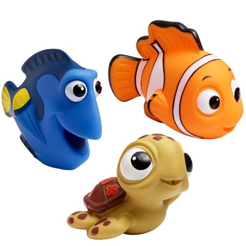 disney finding nemo squirt toys 3 pc bath set educational toys planet. Black Bedroom Furniture Sets. Home Design Ideas