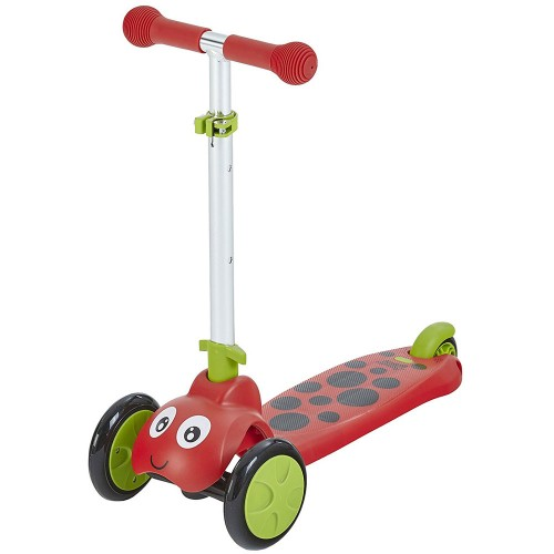 Scootie Bug 3 Wheel Folding Scooter – Red