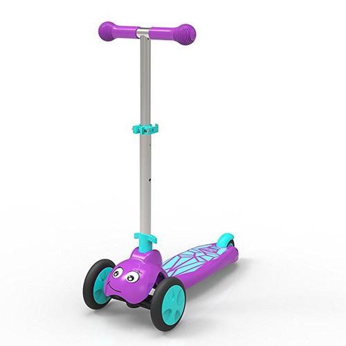 Scootie Bug 3 Wheel Folding Scooter – Purple & Blue