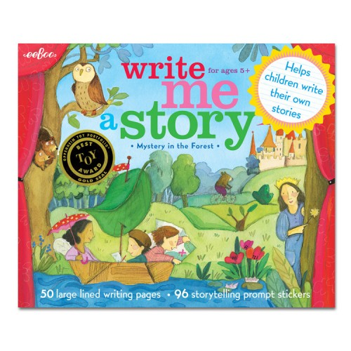 Kids Story Writing Kit – Mystery In The Forest