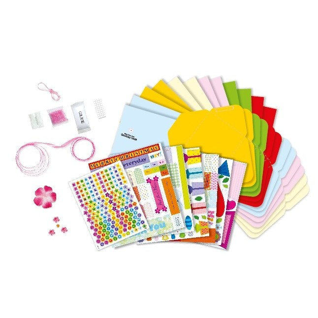 Greeting Cards Making Craft Kit Educational Toys Planet