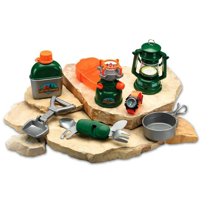 Melissa And Doug Table And Chairs Camp Set Toy Camping Kit - Educational Toys Planet