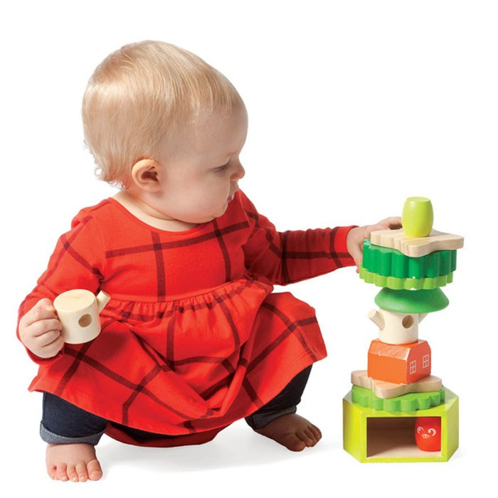 Manipulative Educational Toys : Treehouse stack up toddler manipulative toy educational