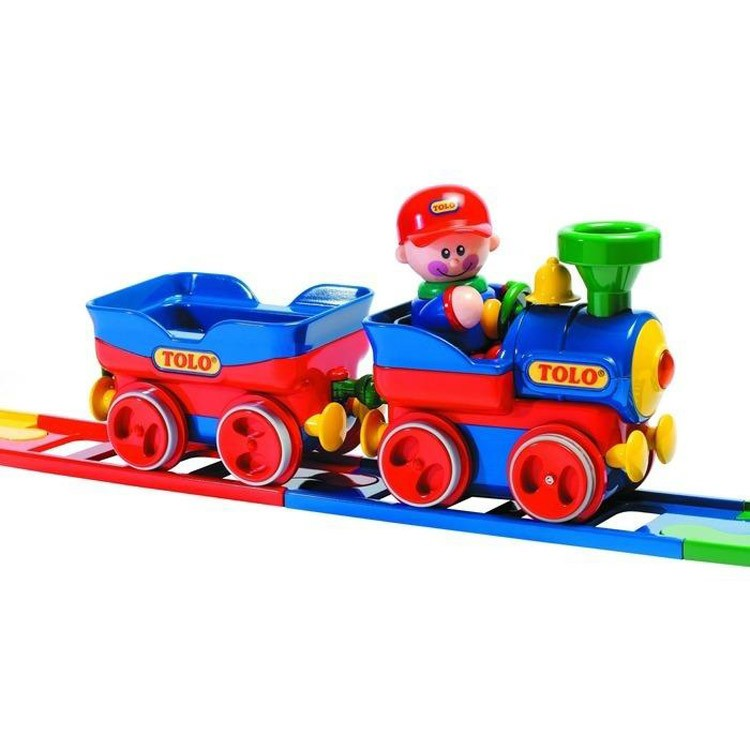 Big Boy Train Toys : Toddler first electronic train playset educational toys