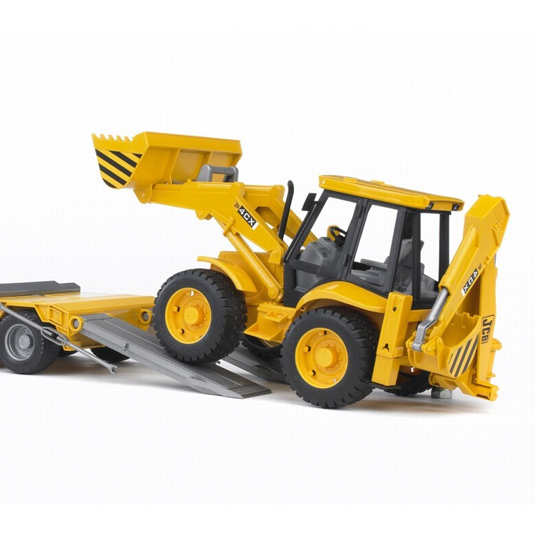 Bruder Toy Truck Set Man Tga Low Loader With Jcb Backhoe Loader Educational Toys Planet