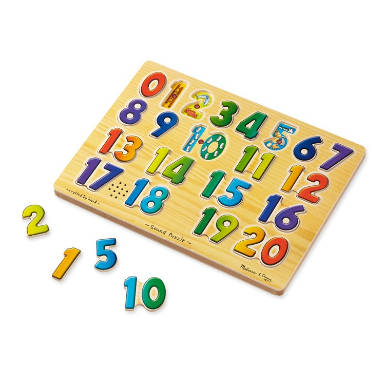 Toys For Learning Numbers : Numbers sound puzzle learning toy educational toys planet