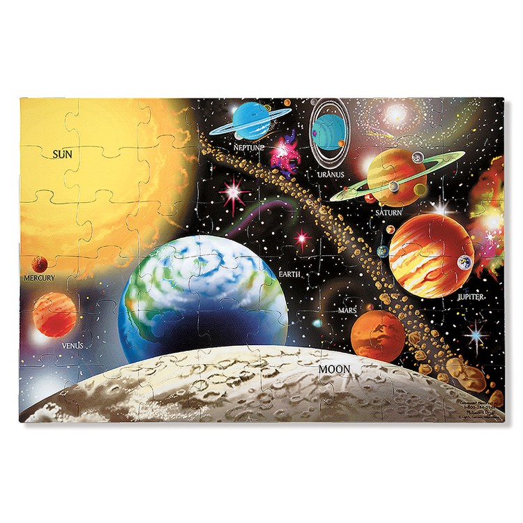 Solar System And Planet Toys : Solar system pc floor puzzle educational toys planet