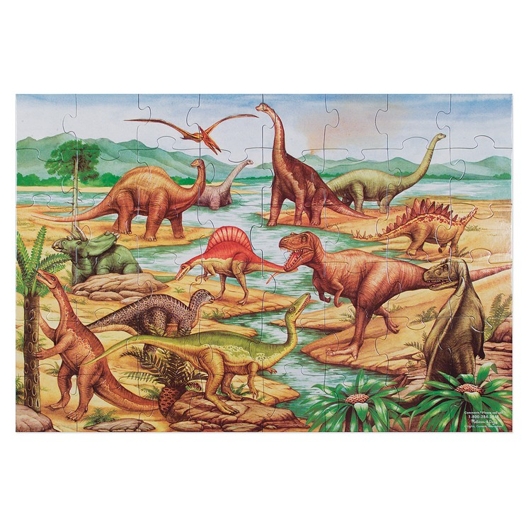 Dinosaurs 48 Pc Floor Puzzle Educational Toys Planet