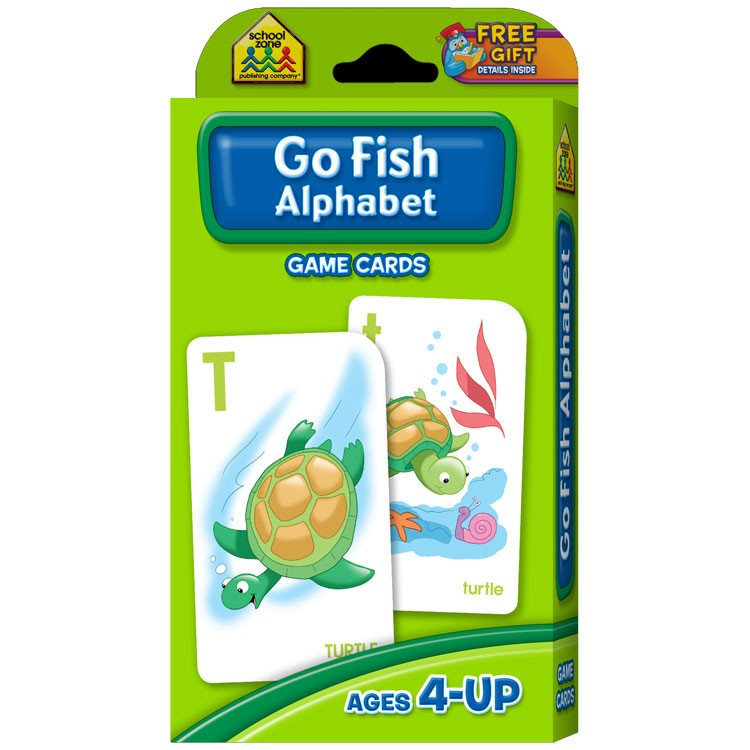 Alphabet go fish card game for kids educational toys planet for Go fish game