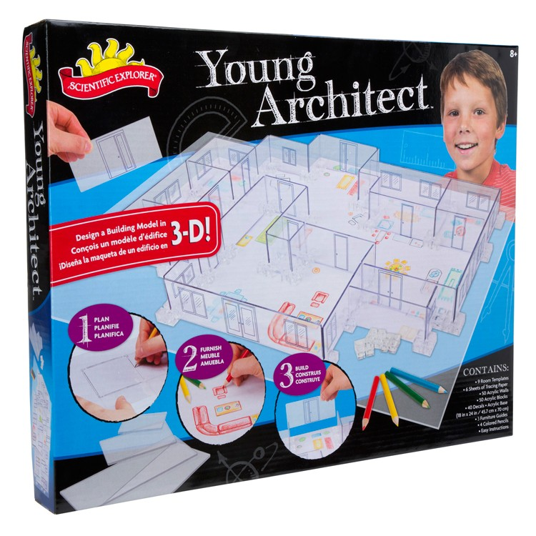 Young Architect 3d Design Kit Educational Toys Planet