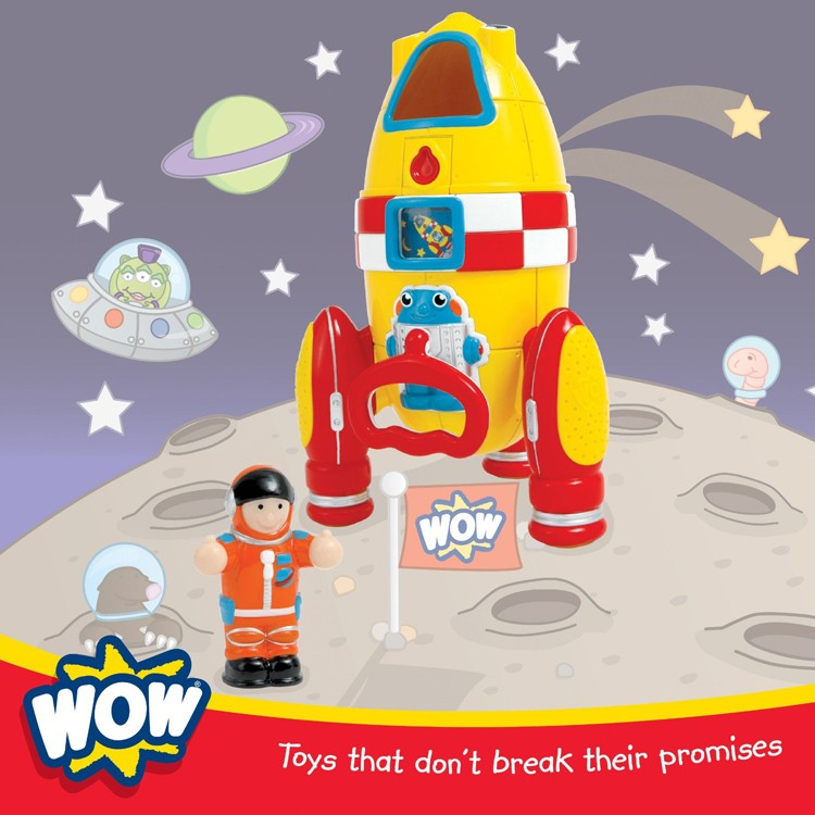 Rocket Toys For 3 Year Olds : Kids rocket playset wow ronnie educational toys