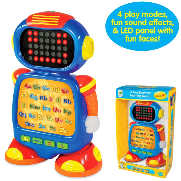 Phonics Bot Early Reading Learning Toy Robot - Educational ...