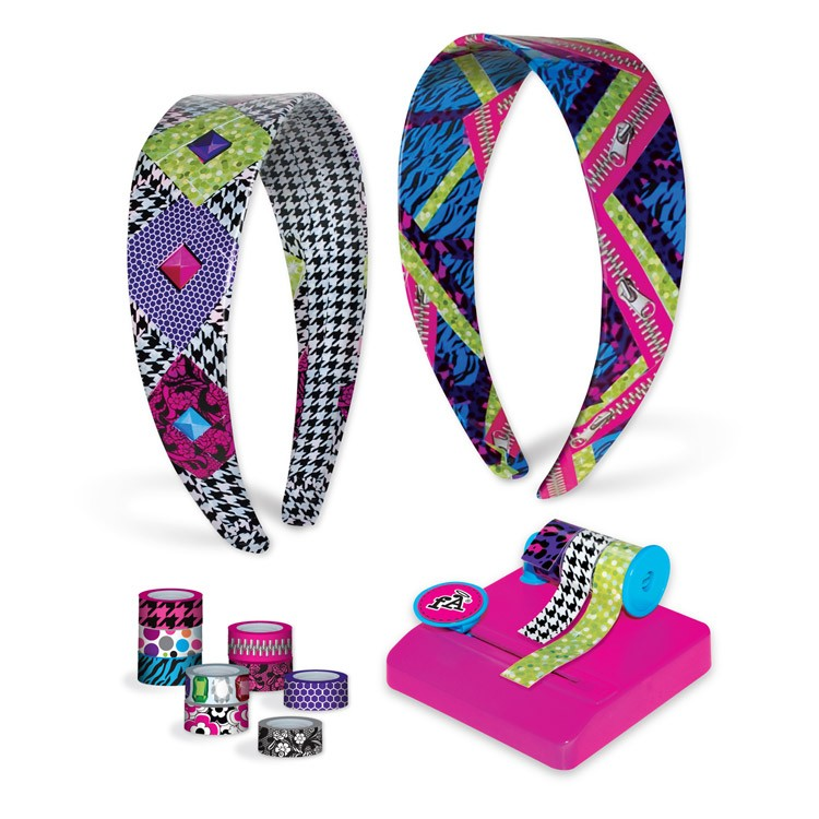 Tapeffiti headband decorative craft kit for girls for Craft presents for girls