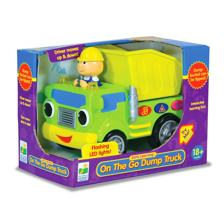 Electronic Learning Toys : Dump truck early learning toddler electronic toy