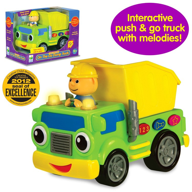 Dump Truck Early Learning Toddler Electronic Toy ...