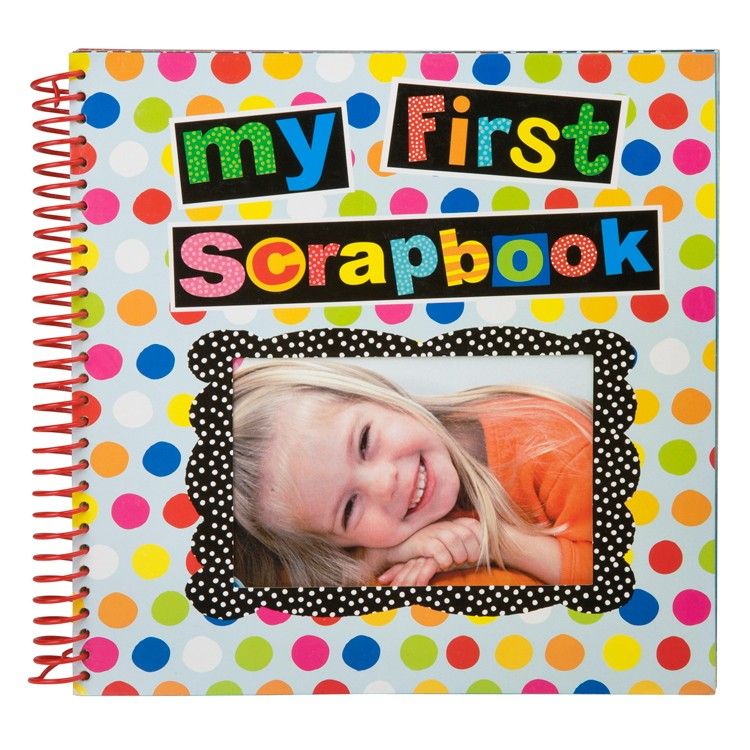 my first scrapbook preschool kids craft kit educational