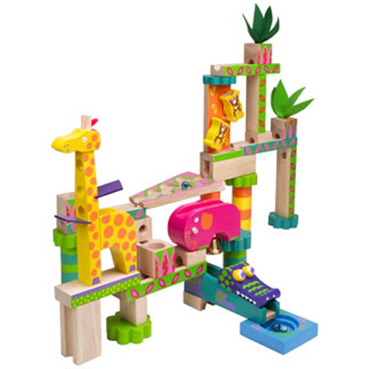 Jungle Marble Maze Kids Marble Run Educational Toys Planet