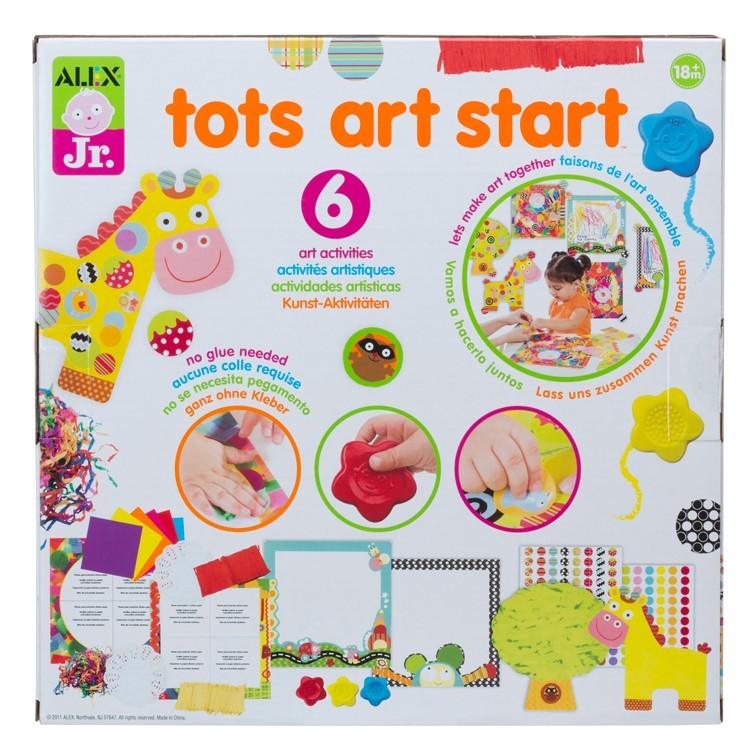 Tots art start toddler craft kit educational toys planet for How to start a small craft business from home