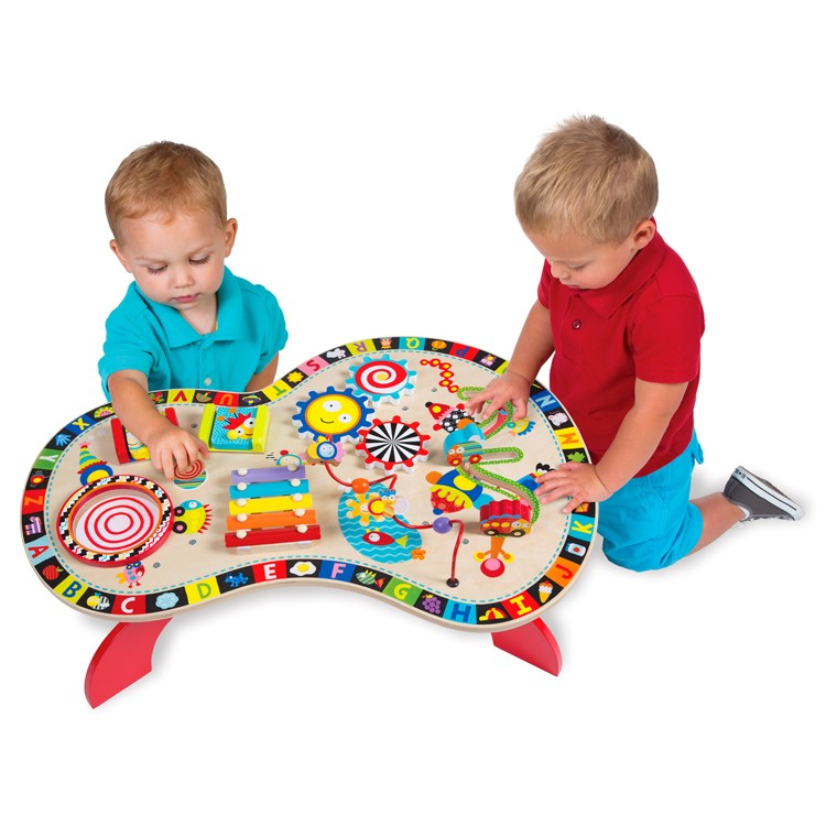 Baby Activity Toys : Sound play busy table musical activity center