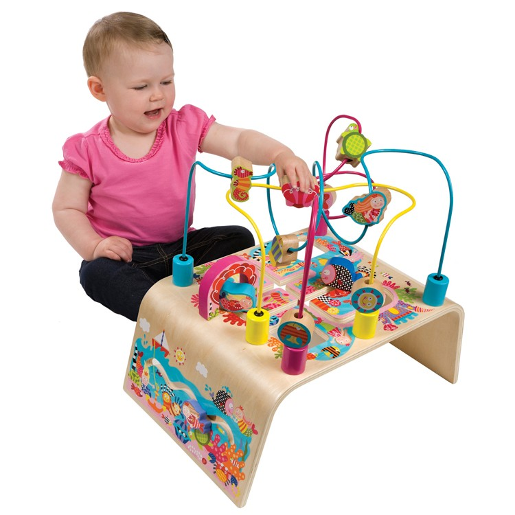 Busy Bead Maze Toddler Activity Center Mermaid Adventure