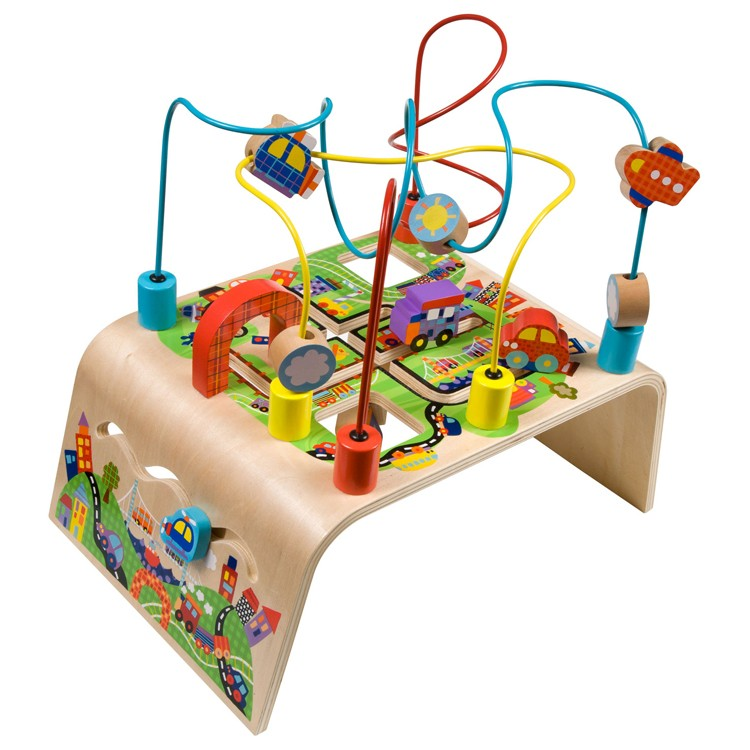 Toys For Activity : Busy bead maze toddler activity center race around
