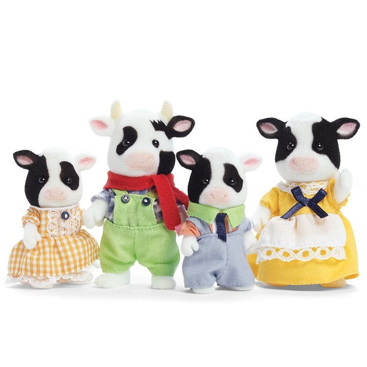 Friesian Cow Family - Calico Critters - Educational Toys ...