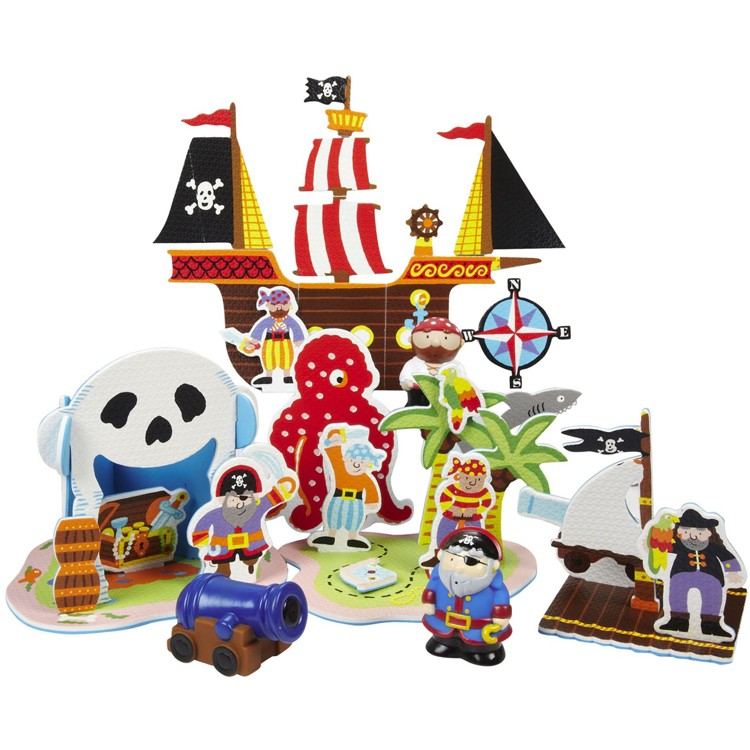 Pirate Toys For Boys : Pirates of the tub bath toy educational toys planet