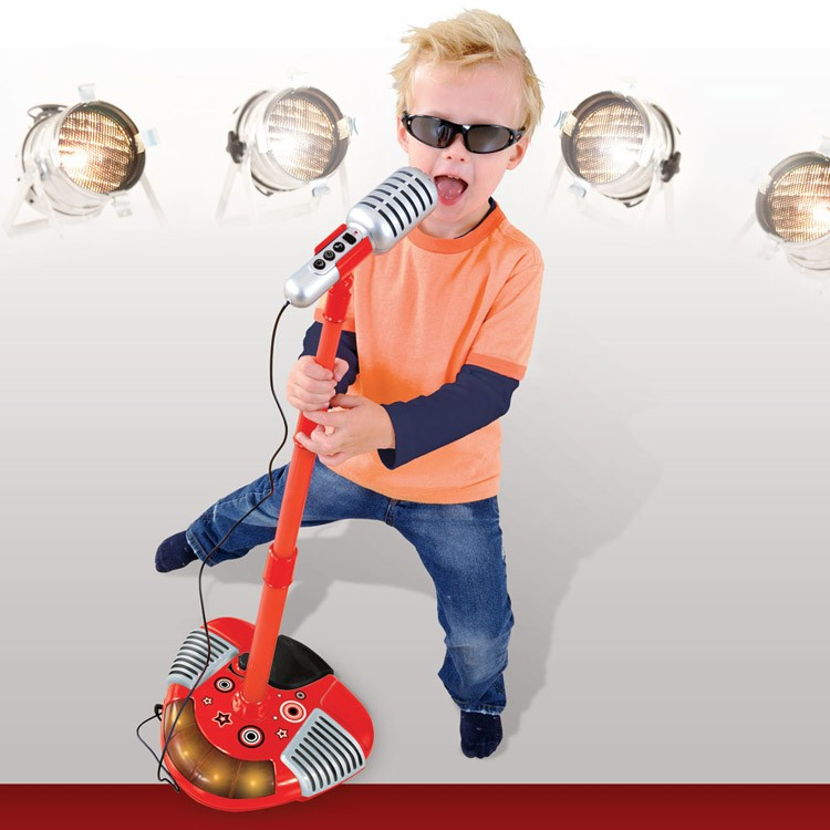 Sing Along Toy Microphone Red Educational Toys Planet