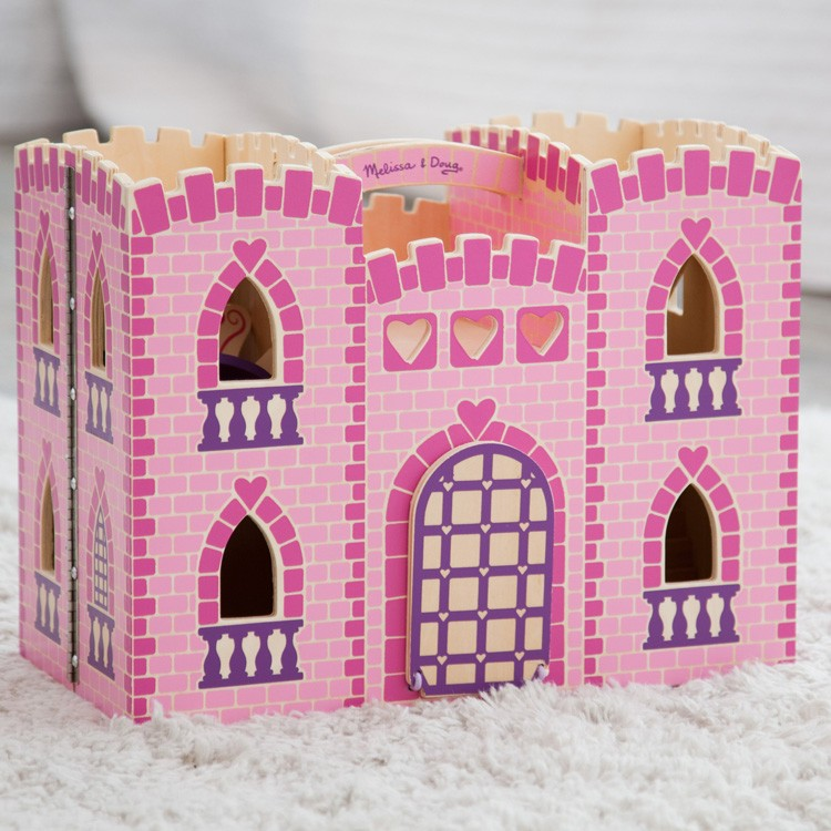 Fold Amp Go Princess Castle Wooden Toy Educational Toys Planet