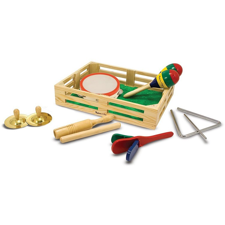 Musical Instruments Toys : Kids musical instruments band in a box educational