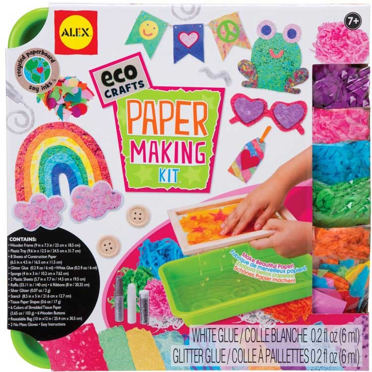 paper making kit kids eco craft educational toys planet. Black Bedroom Furniture Sets. Home Design Ideas