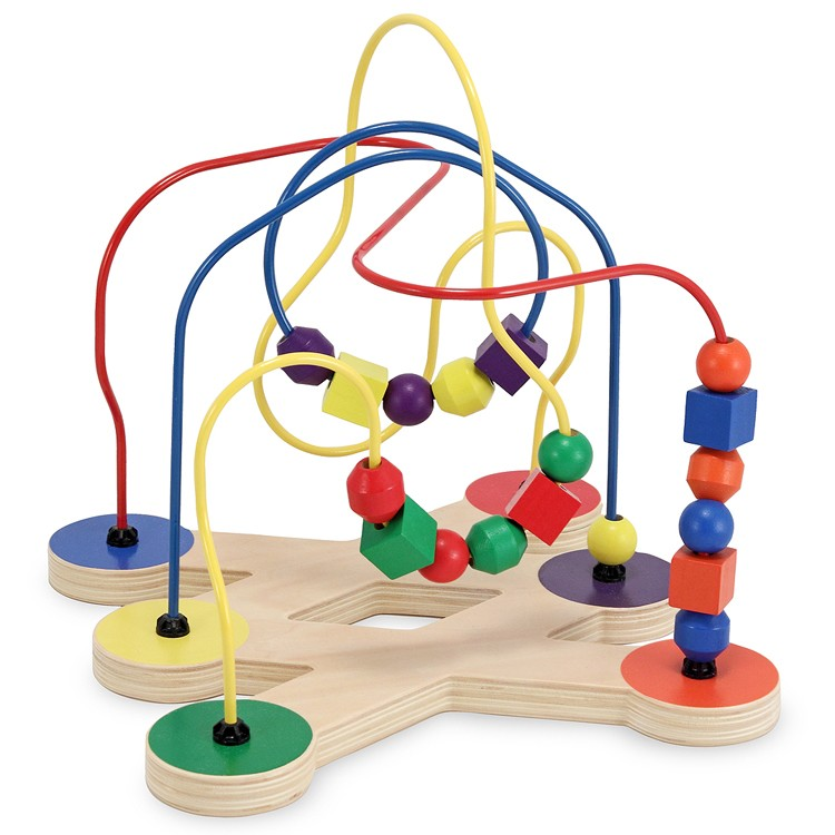 4 Year Old Developmental Toys : Classic toy bead maze educational toys planet