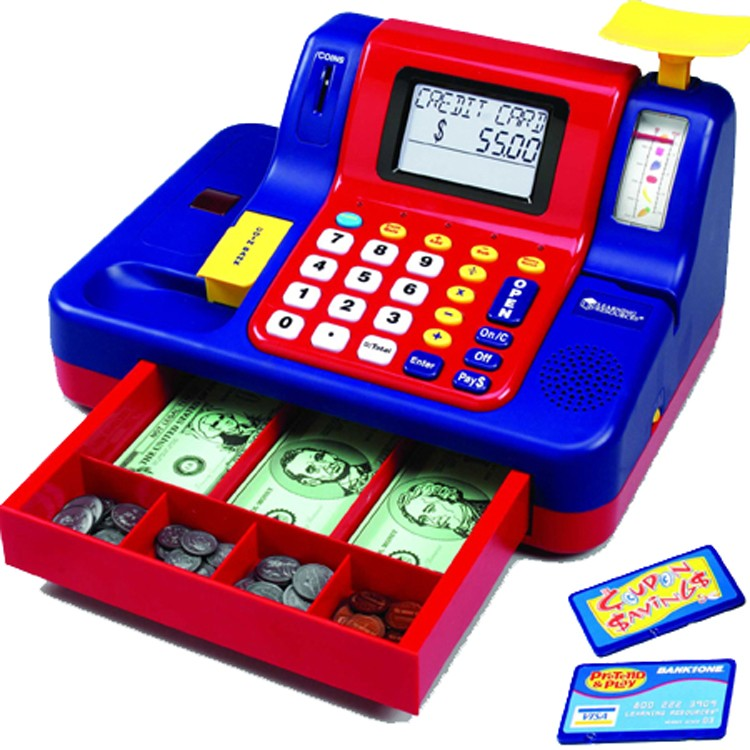 Toys For Teachers : Toy cash register teaching educational toys planet